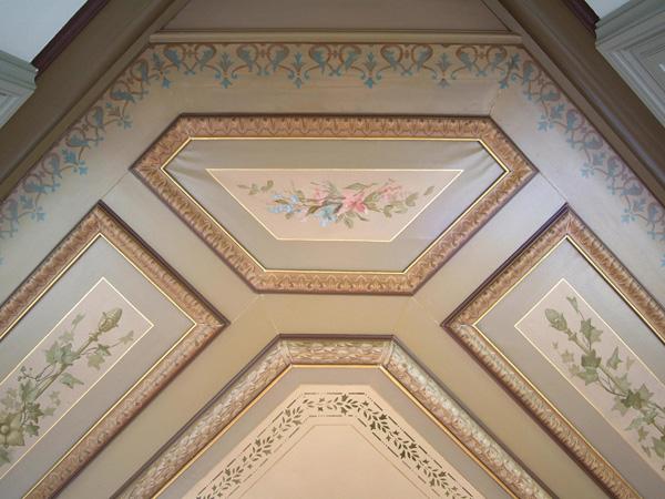 Beschilderde plafonds